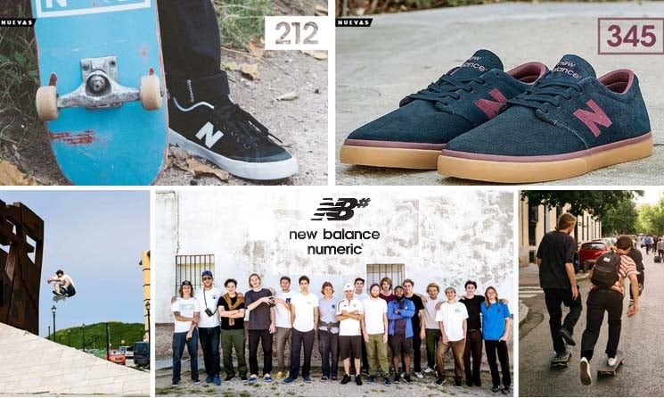 New Balance Numeric Sneakers