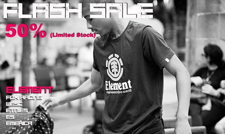 Flash Sale 50%