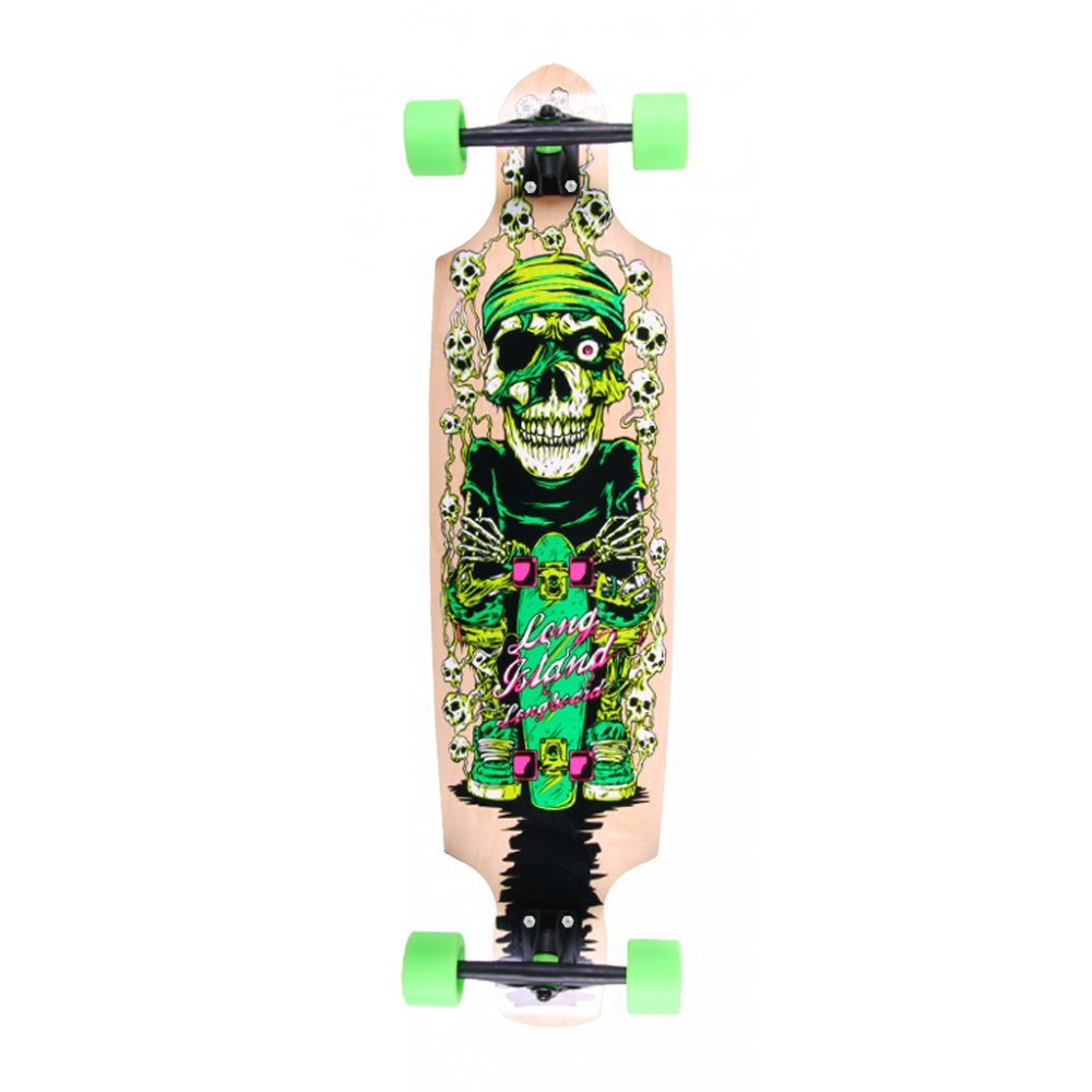 long island skateboard komplett longboard 14a bullet. Black Bedroom Furniture Sets. Home Design Ideas