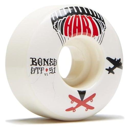 Bones Rollen: STF Hart Drop Boards Vi (51 mm)