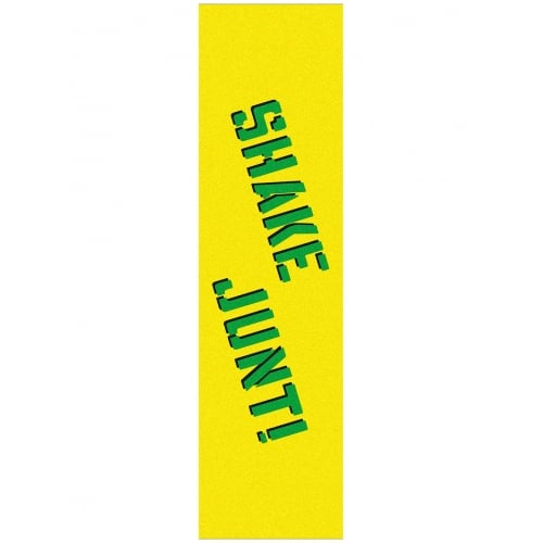 Shake Junt Griptape: Grip Tape Sheet Yellow