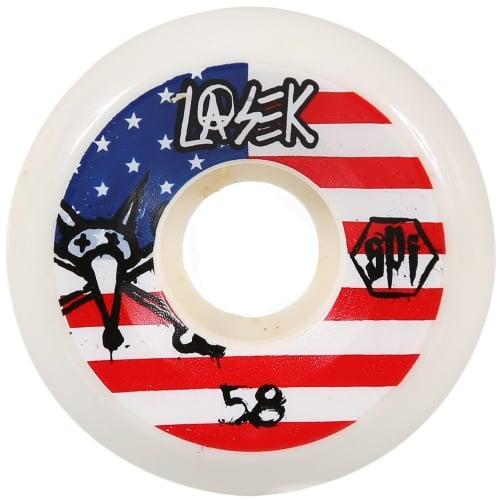 Bones Rollen: Lasek USA Skatepark (58 mm)