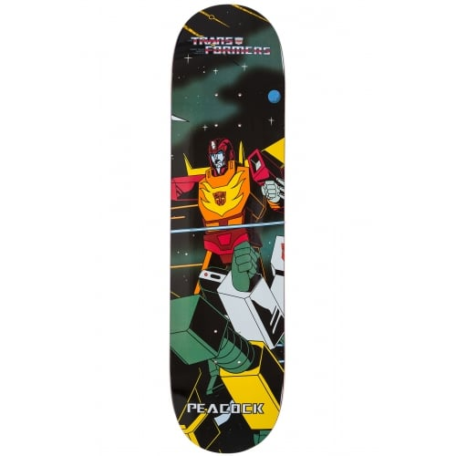 Primitive Deck: Transformers _ Brian Peacock 'Hot Rod' Multi 8.0