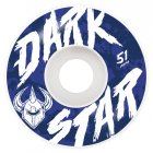 Darkstar Rollen: Chalk White (51 mm)