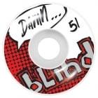 Blind Rollen: OG Logo White/Red (51 mm)