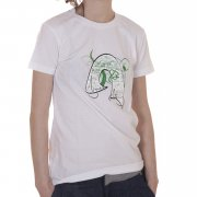 Against Clothing Girl T-Shirt: Tech WH, S