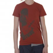 Atticus Girl T-Shirt. Color: orange.