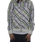 Roxy Girl Jacke: Lovelight Plaid WH, XS