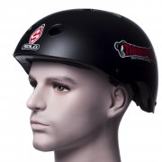 Thumper Helm: Helm ipod/mp3 BK