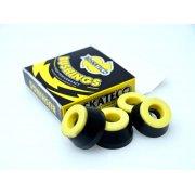 BDSkateCO Lenkgummis: DCore Black/Yellow 90A