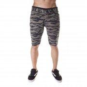 Matix Shorts: Gripper Twill Tiger Camo