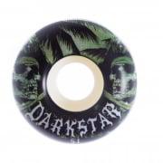Darkstar Rollen: Helm Green/White (51 mm)