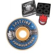 Spitfire Rollen + Kugellager: F4 99D Classic (52 mm)& Cheapshots Abec 3