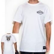 BDSkateCO T-Shirt: BD Tee Geo Wild DEER WH