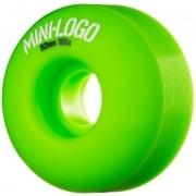 Mini-Logo Skateboards Rollen: C-Cut Green (54 mm)
