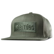 Etnies Cap: Corp Box Snapback GN