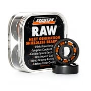 Bronson Speed Co Kugellagers: Raw Skateboards Bearings