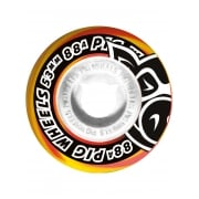 Pig Rollen: Pig Head Swrils New Orange (53 mm)