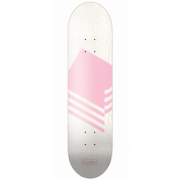Rumba Skateboarding Deck: Wood Logo Pinkn 8.1