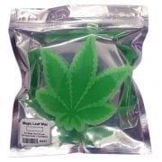Skate Mental Wax: Magic Leaf_ Weed Wax Green