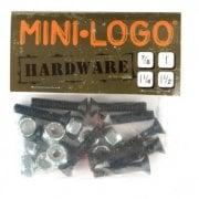 "Mini-Logo Skateboards Mini-Logo Montageset: Hardware Phillips 1"""