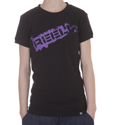 Reell Girl T-Shirt: Stamp BK, S