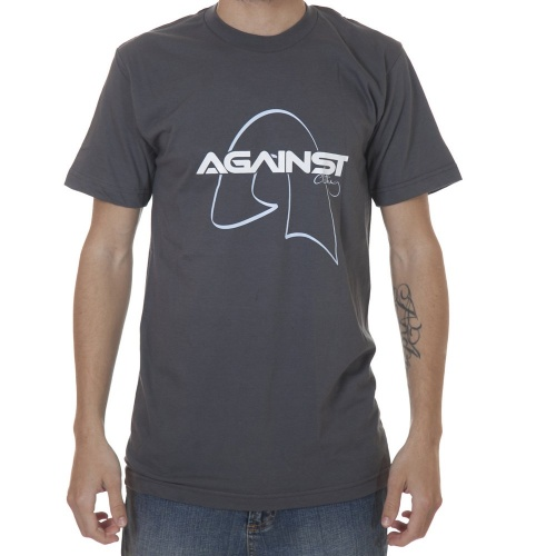 Against Clothing Tshirt: Gold GR, S