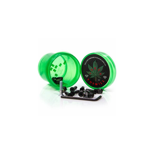 "Diamond Montageset: Hella Tight Hardware Torey Pudwill 7/8"" Green"