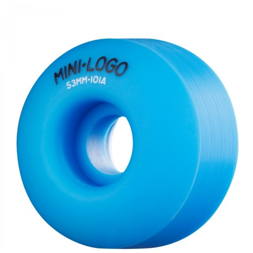Mini-Logo Skateboards Rollen: C-Cut Blue (53 mm)
