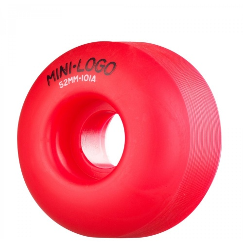 Mini-Logo Skateboards Rollen: C-Cut Red (52 mm)