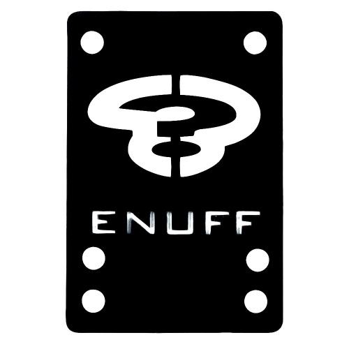 Enuff Pads: Shock Pads Black