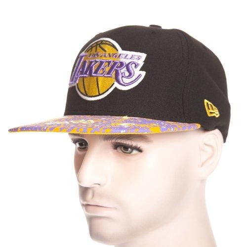 New Era Cap: Fleur De Fitted Los Angeles Lakers BK/YL