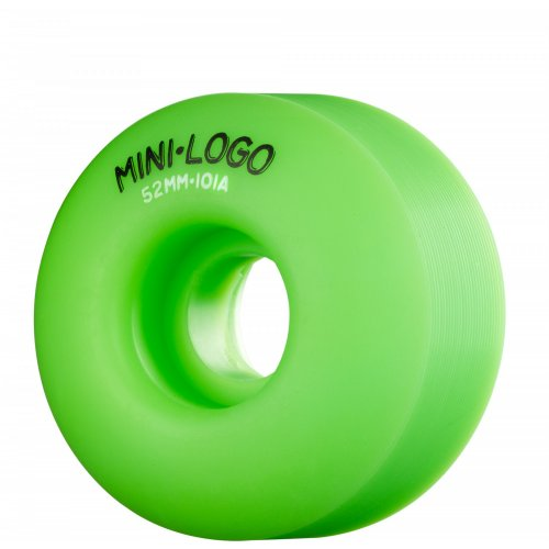 Mini-Logo Skateboards Rollen: C-Cut Green (52 mm)