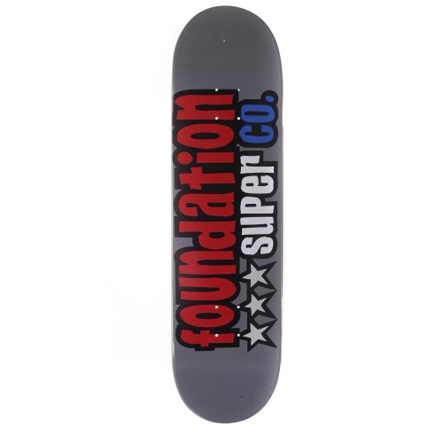 Foundation Skateboards Deck: Star 8