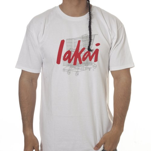 Lakai T-Shirt: TSC Chunk Tee Choco 20 Years WH