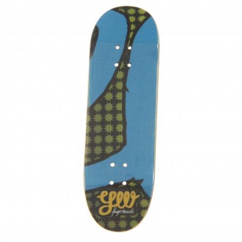 Fingerboards Yellowood Deck: YW Blue