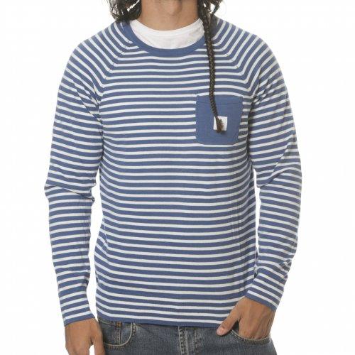 WESC Pullover: Bentley Deep Sea BL