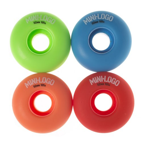 Mini-Logo Skateboards Rollen: C-Cut Militant Assorted (52 mm)