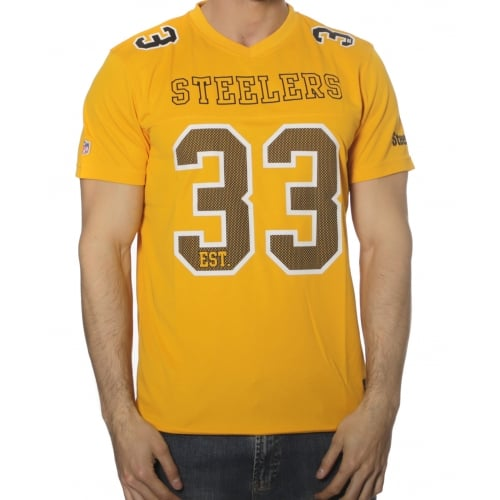 Majestic NFL T-Shirt: Abris Pittsburgh Steelers YL