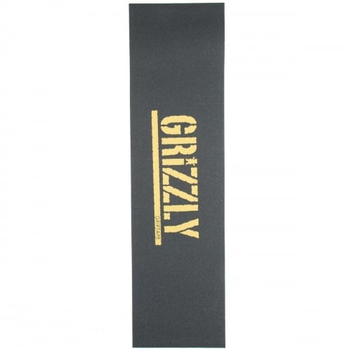 Grizzly Griptape: Stamp Print Grip Gold