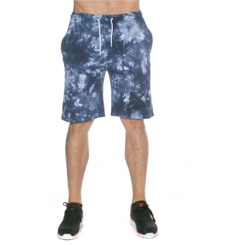 Grimey Short: Godly Beigns Tie Dye Shorts BL