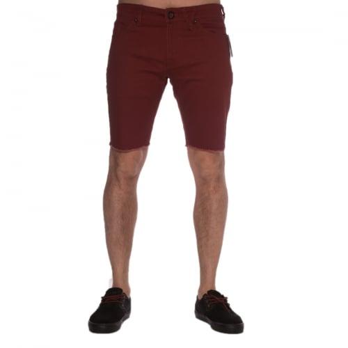 Volcom Shorts: 2X4 Twill Short Port GT