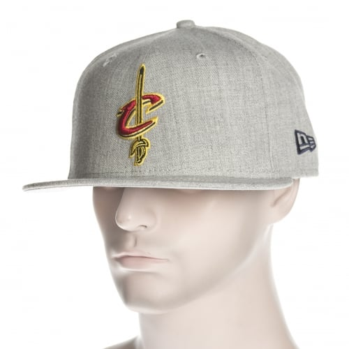 New Era Cap: NBA Heather Fitted Cleveland Cavaliers GR