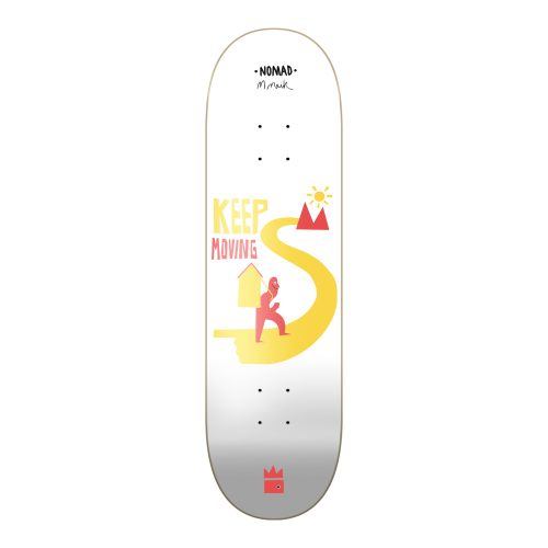 Nomad Deck: Keep Moving 8.125