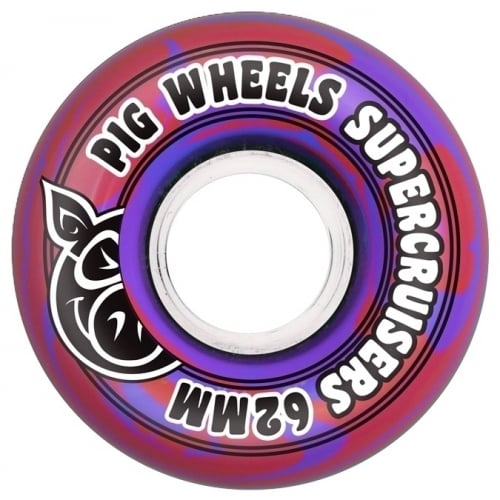 Pig Rollen: Pig Supercruiser New Red (62 mm)