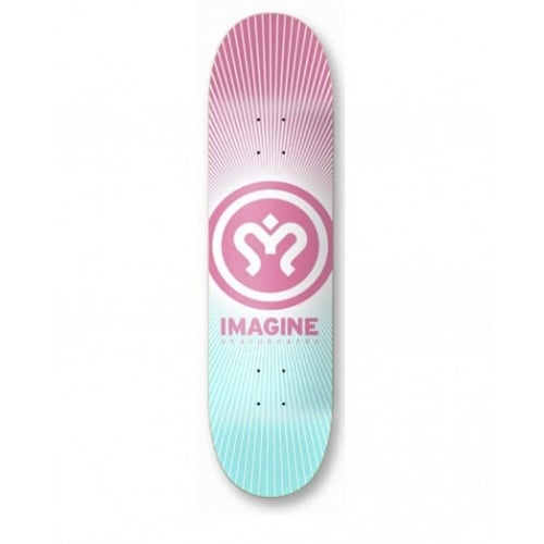 Imagine Skateboards Deck: Sunrise 8.3