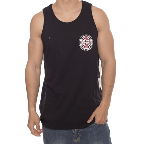 Independent Tank-Top: Vest Truck Co Chest BK