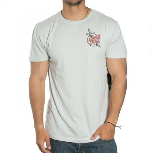Santa Cruz T-Shirt: Tatoo Hand Asphalt GR