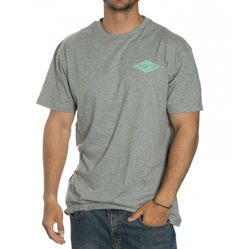 Santa Cruz T-Shirt: Diamond Tee Dark Heather GR