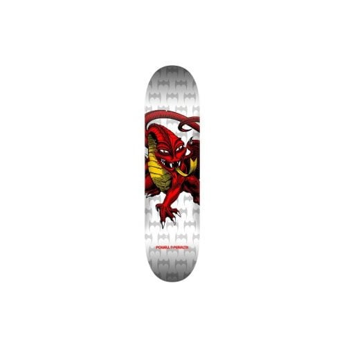 Powell Peralta Deck: Cab Dragon WH/Red One Off 112 7.75